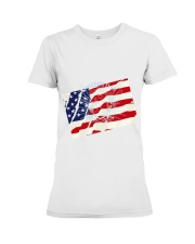 The Men USA Premium Fit Ladies Tee thumbnail