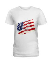 The Men USA Ladies T-Shirt thumbnail