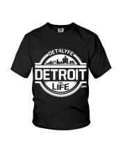 DET4LYFE 313 Day Merch Youth T-Shirt thumbnail