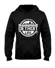 DET4LYFE 313 Day Merch Hooded Sweatshirt thumbnail