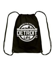 DET4LYFE 313 Day Merch Drawstring Bag thumbnail