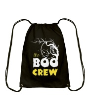 The Boo Crew  Drawstring Bag front