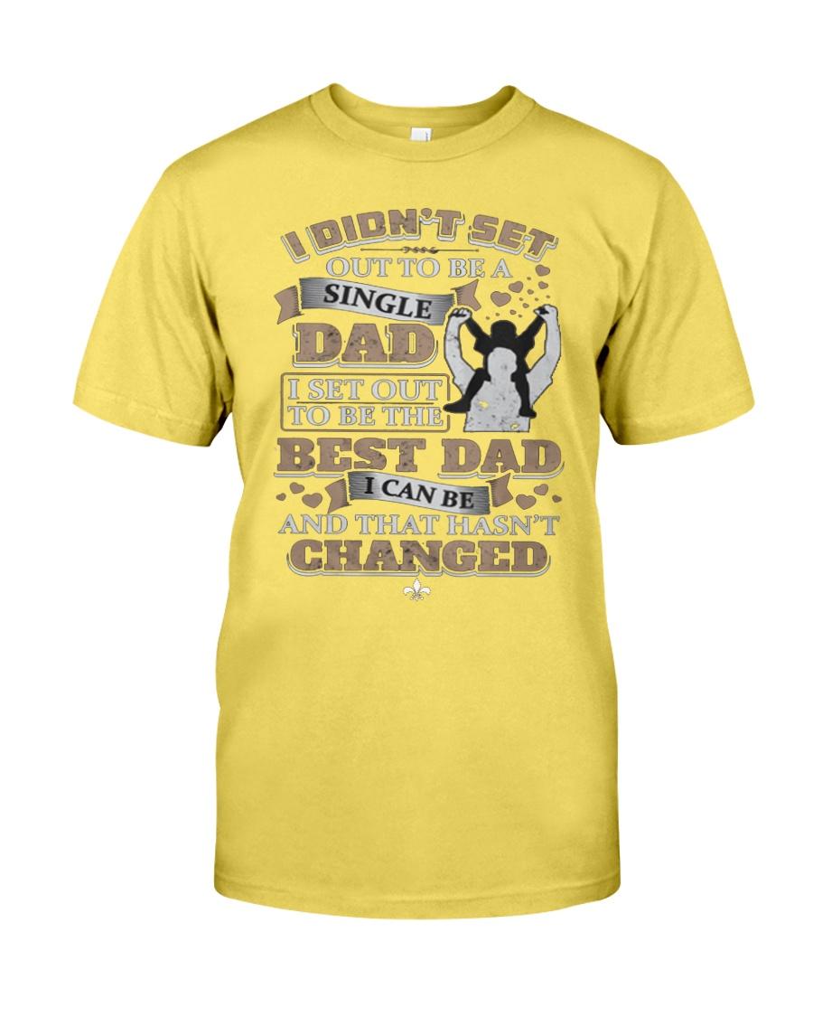 Single Dad T Shirt  Premium Fit Mens Tee