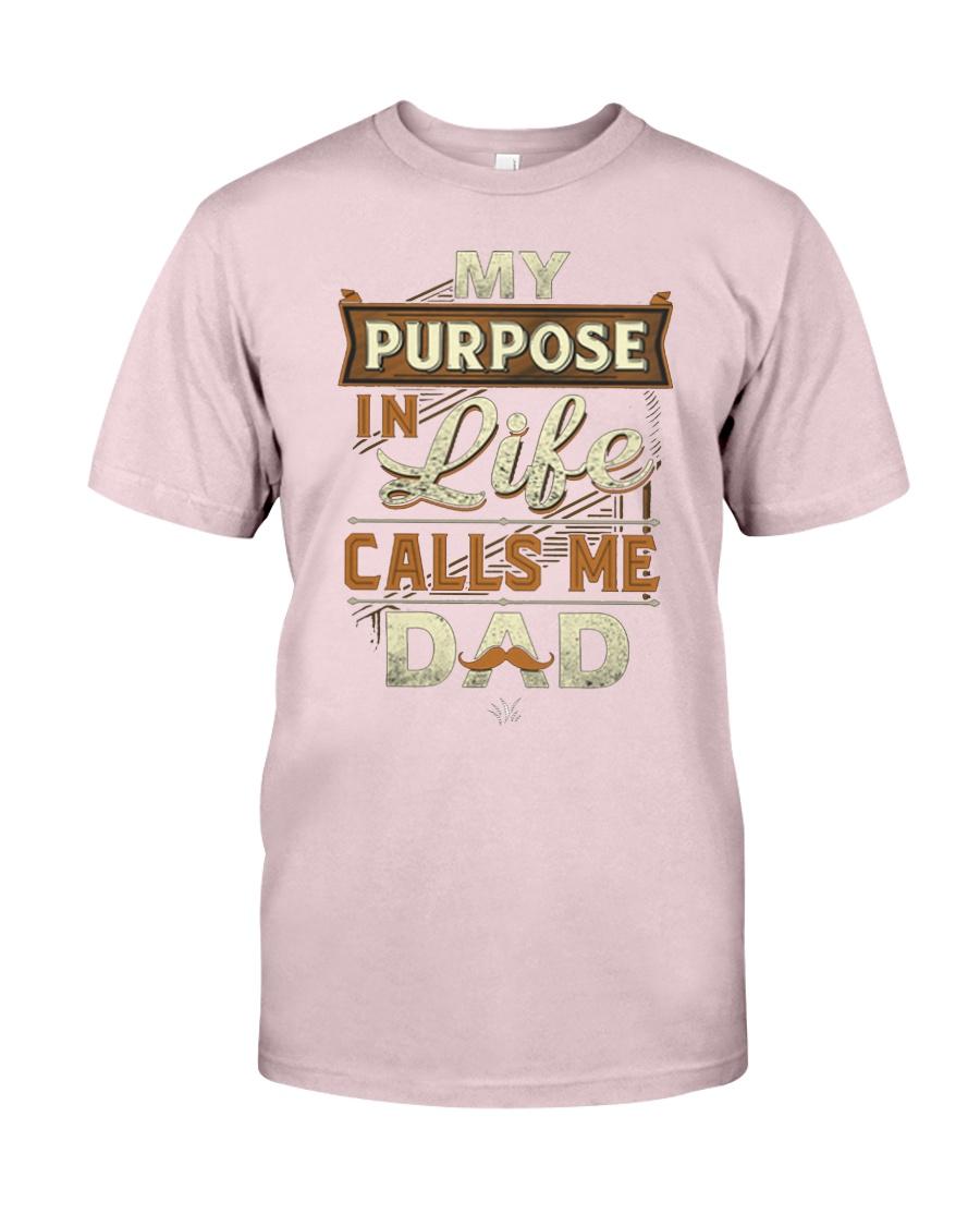 My Purpose in Life Calls Me Dad T Shirt Premium Fit Mens Tee