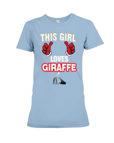LIMITED EDITION - THIS GIRL LOVES GIRAFFE