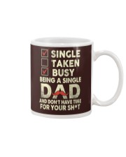 Single Taken Busy Dad T Shirt Mug tile