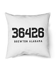 """Brewton Alabama 36426 Indoor Pillow - 16"""" x 16"""" thumbnail"""
