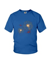 Modern designer trends Youth T-Shirt thumbnail