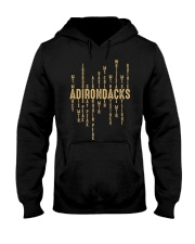 Adirondack Mountains Hooded Sweatshirt front