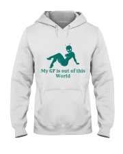 My GF is out of this world Hooded Sweatshirt thumbnail