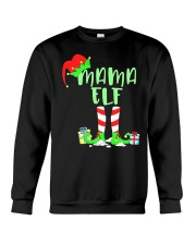 Mama Elf Shirt- Elf Family Shirts- Elf Christmas S Crewneck Sweatshirt thumbnail