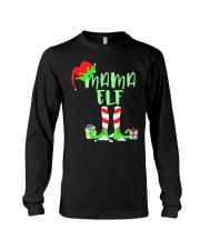 Mama Elf Shirt- Elf Family Shirts- Elf Christmas S Long Sleeve Tee thumbnail