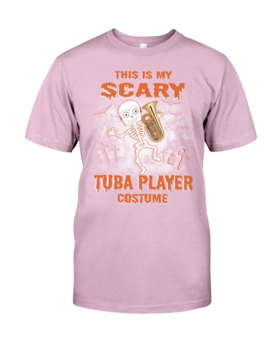 THIS IS MY SCARY TUBA PLAYER COSTUME
