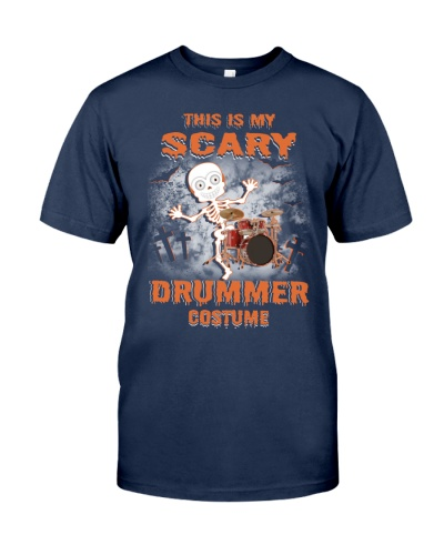 THIS IS MY SCARY DRUMMER COSTUME