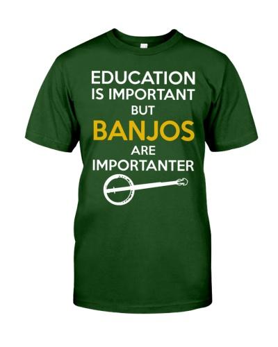 BANJOS ARE IMPORTANTER
