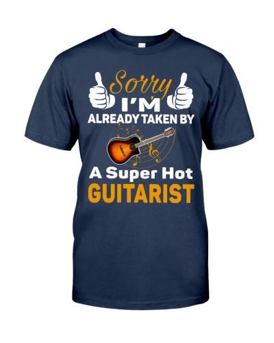 A SUPER HOT GUITARIST