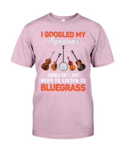 I JUST NEED TO LISTEN TO BLUEGRASS