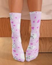 Alpaca Love Crew Length Socks aos-accessory-crew-length-socks-lifestyle-front-02