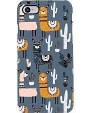 lLAMA NIGHTMARE Phone Case tile