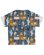 lLAMA NIGHTMARE All-over T-Shirt back