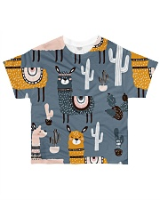 lLAMA NIGHTMARE All-over T-Shirt front