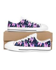 pinky Llama Women's Low Top White Shoes thumbnail