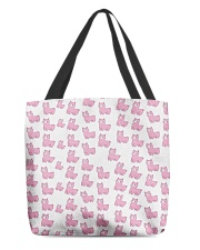 Cute Alpaca  All-over Tote front