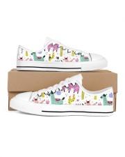 lLAMA FESTIVAL Women's Low Top White Shoes tile