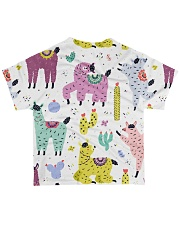 lLAMA FESTIVAL All-over T-Shirt back