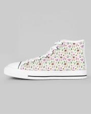 alpaca Garden Women's High Top White Shoes aos-women-high-top-shoes-ghosted-white-outside-left-01