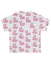 Alpaca cute pattern All-over T-Shirt back