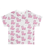 Alpaca cute pattern All-over T-Shirt front
