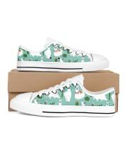 lLAMA Forest Women's Low Top White Shoes tile