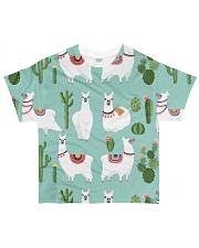 lLAMA Forest All-over T-Shirt front
