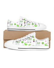 nature and alpaca Women's Low Top White Shoes thumbnail