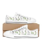 Alpaca nature  Women's Low Top White Shoes tile