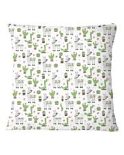 Alpaca nature  Square Pillowcase tile
