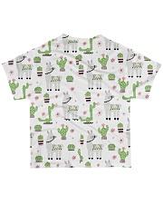 Alpaca nature  All-over T-Shirt back