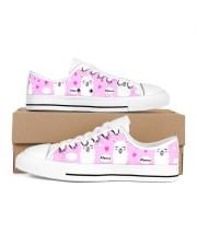 love alpaca Women's Low Top White Shoes tile