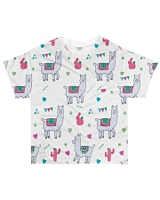 Alpaca World Collection All-over T-Shirt front