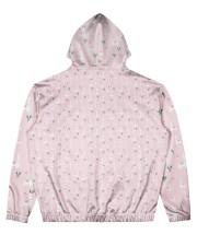 pink Alpaca Hoodie Men's All Over Print Hoodie back