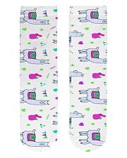 alpaca worm socks Crew Length Socks front