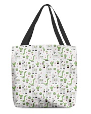 Alpaca farm All-over Tote back