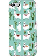 lLAMA Forest Phone Case tile