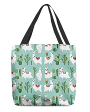 lLAMA Forest All-Over Tote tile