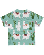 lLAMA Forest All-over T-Shirt back