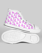 cute alpaca Women's High Top White Shoes aos-women-high-top-shoes-ghosted-white-outside-right-01