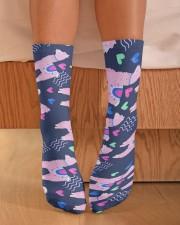 Alpaca Dream Crew Length Socks aos-accessory-crew-length-socks-lifestyle-front-02