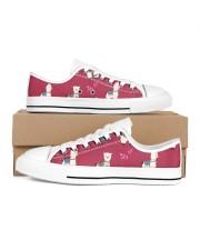 ALPACA MOOD Women's Low Top White Shoes tile