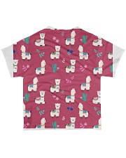 ALPACA MOOD All-over T-Shirt back